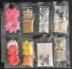 Our Straight Eight Scraprack Storage page is perfect for bulky, paper crafting embellishments. Scrapbook Organization, Room Organization, Art Storage, Storage Ideas, Paper Crafting, Embellishments, Craft Supplies, Tiffany, Card Making