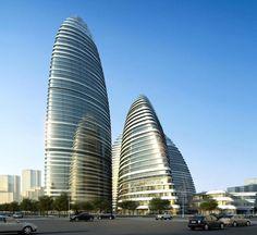 Zaha Hadid Architect projects for China.
