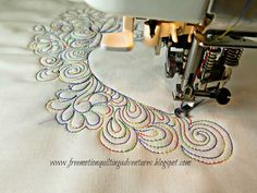 Free motion quilting friends