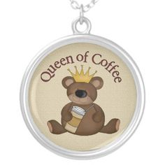 Queen Of Coffee necklace