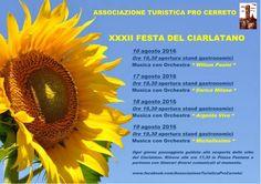 Programma estate a Cerreto di Spoleto e Festa del Ciarlatano del 16-19 agosto