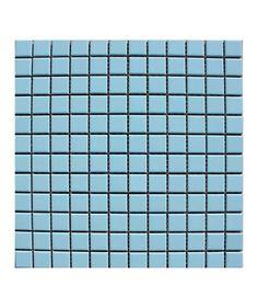 Pool Sky Blue 23x23mm Mosaic Tile