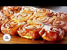 Anna Olsen cinnamon roll YH: best dough and right portion Cinnamon Bun Recipe, Vegan Cinnamon Rolls, Cinnamon Recipes, Baking Recipes, Best Sticky Bun Recipe, Food Wishes, Food Network Recipes, Sweet Recipes, Croissant