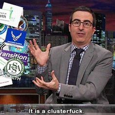 19 Times John Oliver Was Just Really Fucking Great