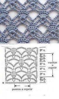 Ideas For Crochet Shawl Pattern Diagram Ideas – häkeln ideen Filet Crochet, Crochet Shawl Diagram, Crochet Motifs, Crochet Stitches Patterns, Crochet Chart, Knitting Stitches, Stitch Patterns, Knitting Patterns, Start Knitting