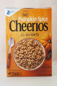 This Is NOT a Drill: Cheerios Just Released a Pumpkin Spice Flavor!