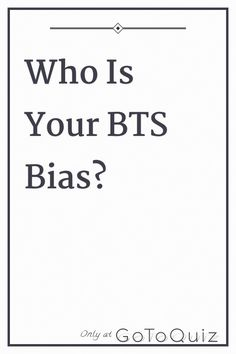 Member which is bias bts your BTS ARMY: