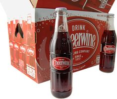 CHEERWINE! Like a Dr. Pepper or Sprite w Cherry...The go to drink in Mitford!