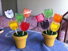 Tulipanes de glicerina facebook.com/Jabones Uge