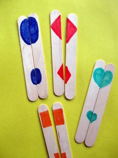 Play the Matching Halves Game from Education.com featured on hands on : as we grow
