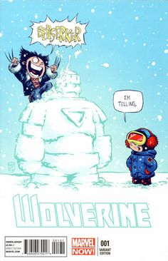 Cover for Wolverine (Marvel, 2013 series) #1 [Skottie Young Variant]