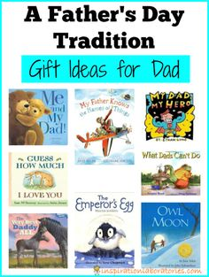 A Father's Day Tradition - Gift Ideas for Dad