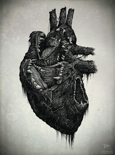 the human heart. arteries, veins and all. made into art. amazing.
