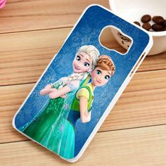 Disney Frozen Anna and Elsa Custom Samsung Galaxy S3, S4, S5, S6, S6 Edge and S7 Case - gogolfnw