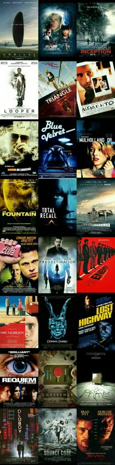 Movies that melted my brain. have to watch.