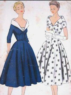 Vintage dresses.