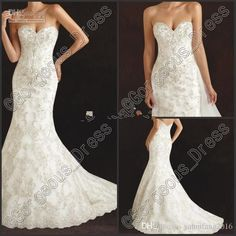2016 High Quality Sweetheart Mermaid Wedding Dresses With Applique Beads Sweep Train Organza Newest Luxury Wedding Dresses Mermaid Wedding Dresses Bridal Gowns 2016 Mermaid Dress Online with $194.28/Piece on Yahuifang2016's Store | DHgate.com