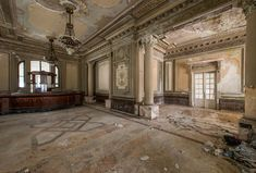 This Abandoned Casino Was Once The Most Magnificent Building In Romania | Bored Panda
