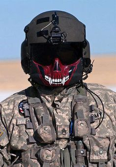 Crewchiefs! I love the face mask on this... I may do it to mine... Tangos lead the way