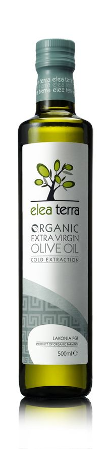 Elea Terra Organic Extra Virgin Olive Oil (Packaging)