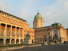 Buda Castle at Sunset / Budapest
