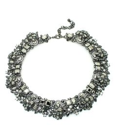 Another great find on #zulily! Silvertone Collar My Neck Necklace by Eye Candy LA #zulilyfinds