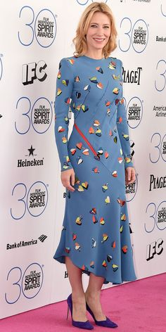 Cate Blanchett's Red Carpet Style Cate Blanchett's Red Carpet Style - In Schiaparelli Couture, 2015 Cate Blanchett, Celebrity Outfits, Celebrity Style, Hollywood Red Carpet, Celebrity Red Carpet, Colourful Outfits, Red Carpet Looks, Red Carpet Dresses, Red Carpet Fashion