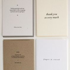 Letterpress Cards by Of Note Stationers   www.ofnotestationers.com