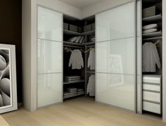 Contemporary Storage Closets bedroom closet Design Ideas, Pictures, Remodel and Decor