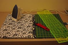 #done  Tute for cutting mat/ironing board combo from Deb's Daily Journal blog.  Looks like a lot of effort...can I find one cheaper OR worth it to make it?  THANKS FOR SHARING!