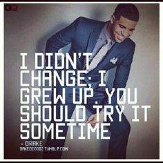 Drake Quote | Drake Qoutes | Pinterest