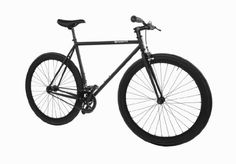 Pure Fix Cycles Fixed Gear Single Speed Urban Fixie Road Bike, 54cm/ Medium, Juliet Matte Black - World of Cycling - The Internet Bicycle St...
