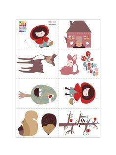 Little Red Wall Sticker Set
