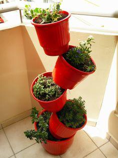 Tipsy DIY planters.