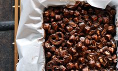 Rocky Road Bars are miraculous in their simplicity. They happen with only 5 ingredients in only 5 minutes. You probably want to tie your apron strings while you