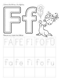 Alphabet Worksheets, Preschool Worksheets, Home Learning, Learning Spanish, Infant Activities, Learning Activities, Tracing Sheets, Spanish Lessons For Kids, Grande Section