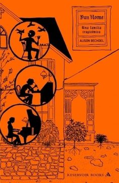 Fun Home: Una familia tragicomica/ A Family Tragicomic (Spanish Edition) by Alison Bechdel Comics Ghost World, Books To Buy, Books To Read, My Books, Entertainment Weekly, New York Times, Web Comic, Alison Bechdel, Short Novels