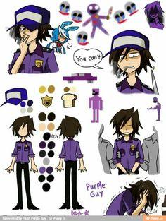 Pole-bear fnaf Purple guy/ vincent I don't think vincent would be a smoker.......