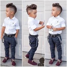 This Cool kids & boys mohawk haircut hairstyle ideas 45 image is part from 60 Awesome Cool Kids and Boys Mohawk Haircut Ideas gallery and article, click read it bellow to see high resolutions quality image and another awesome image ideas. Toddler Boy Fashion, Little Boy Fashion, Toddler Boy Outfits, Toddler Boys, Kids Boys, Fashion Kids, Girl Fashion, Outfits Niños, Baby Boy Outfits