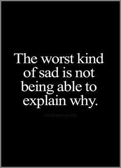 identify your sadness