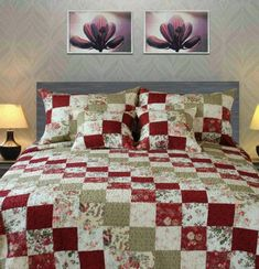 Tache 100% Cotton Floral Country Cottage Quilt Set -King Tache Home Fashion http://smile.amazon.com/dp/B00FMD2W1U/ref=cm_sw_r_pi_dp_IkAVvb0K7VMQW