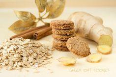 Bez Papriky: Celozrno-ovesné zázvorové sušenky