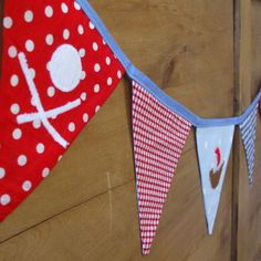 Pirate Bunting from Edie Sloane