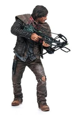 "The Walking Dead Deluxe 10"" Actionfigur Daryl Dixo"
