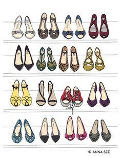 clever! - Designer Dream Shoe Print