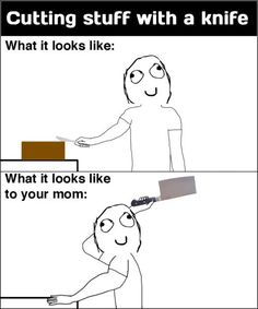 hahahah this is so me and my mom