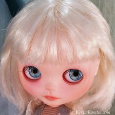 RESERVED FOR WANDY Tansy Blythe Doll by KerriaRosette on Etsy, $100.00