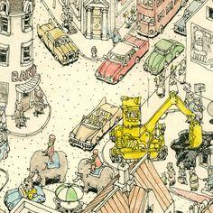 the Present by Mattias Adolfsson, via Behance