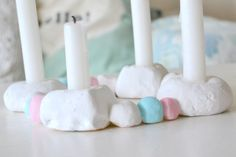 Candle Holders, Candles, Diy, Do It Yourself, Bricolage, Candy, Handyman Projects, Candelabra, Candle