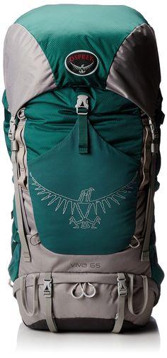 Amazon.com: Osprey Women's Viva 65 Backpack, Emerald Green, One Size